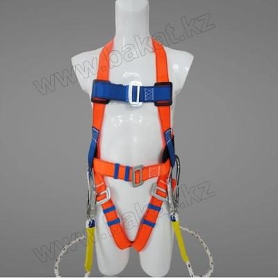 Пояс страховочный парашютного типа, Пояс монтажный (Пояс предохранительный) парашютный тип с Амортизатором