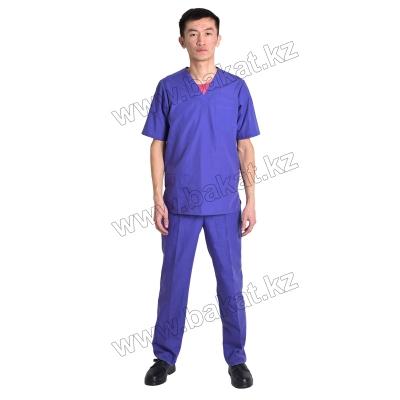 Хирургический костюм синии